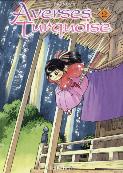 Couverture Averses turquoises tome 2