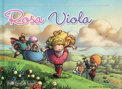 Couverture Rosa Viola tome 1