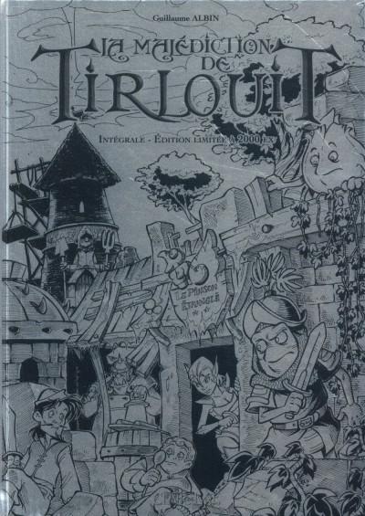 Couverture La malédiction de Tirlouit - intégrale prestige