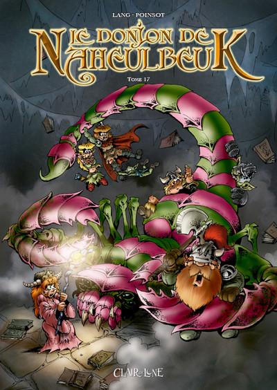 Couverture Le donjon de Naheulbeuk tome 17