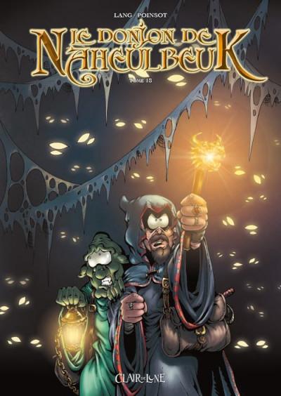 Couverture Le donjon de Naheulbeuk tome 18