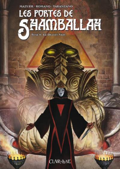 Couverture Les portes de Shamballah tome 4