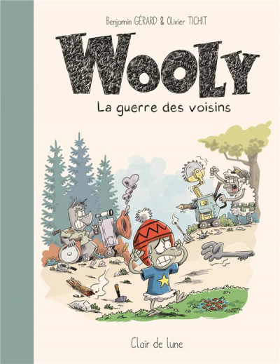 Couverture Wooly