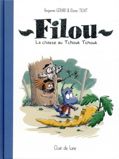Couverture Filou - La chasse au tchouk tchouk