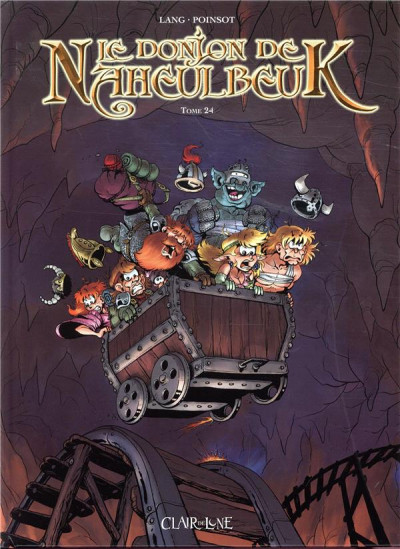 Couverture Le donjon de Naheulbeuk tome 24