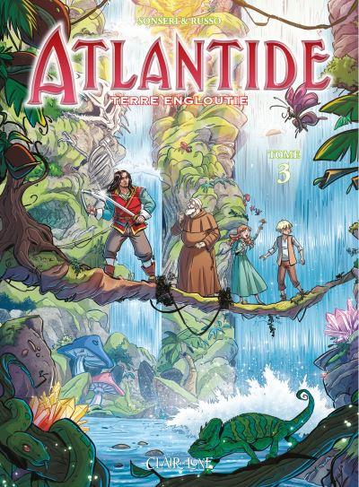 Couverture Atlantide tome 3