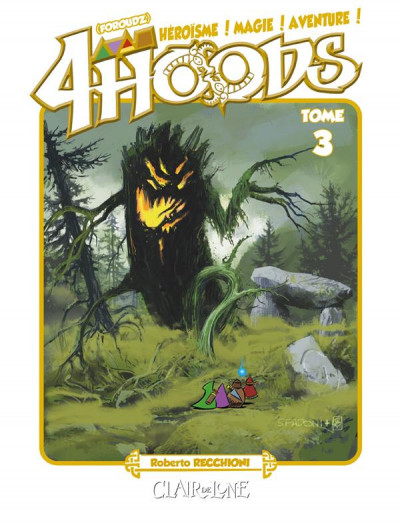Couverture 4hoods tome 3