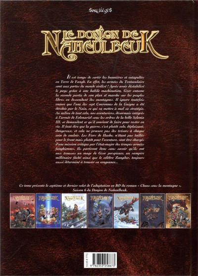 Dos Le donjon de Naheulbeuk tome 25