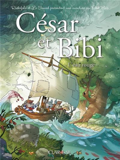 Couverture César et Bibi - L'eau rouge