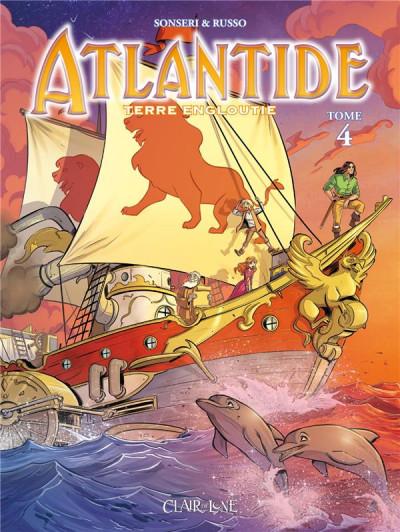 Couverture Atlantide tome 4