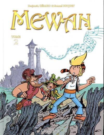 Couverture Mewan tome 2