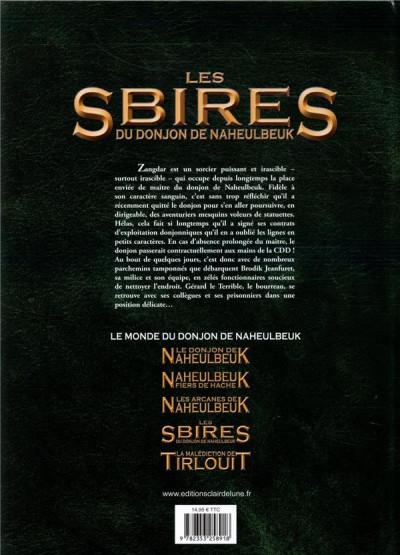 Dos Les sbires du donjon de Naheulbeuk tome 1