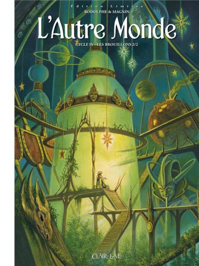 Couverture L'autre monde - cycle 4 - édition limitée tome 2