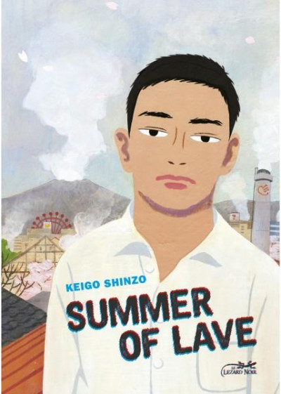 Couverture Summer of lave