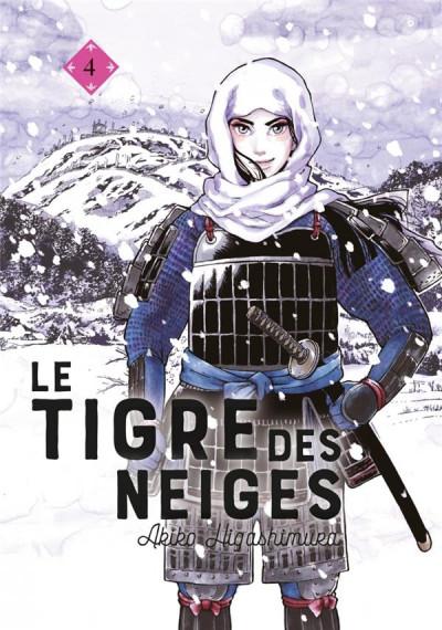 Couverture Le tigre des neiges tome 4