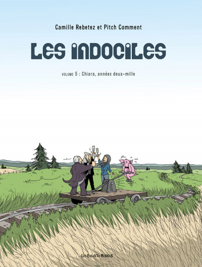 Couverture Les indociles tome 5