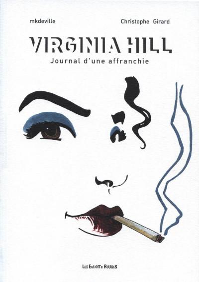 Couverture Virginia Hill, journal d'une affranchie