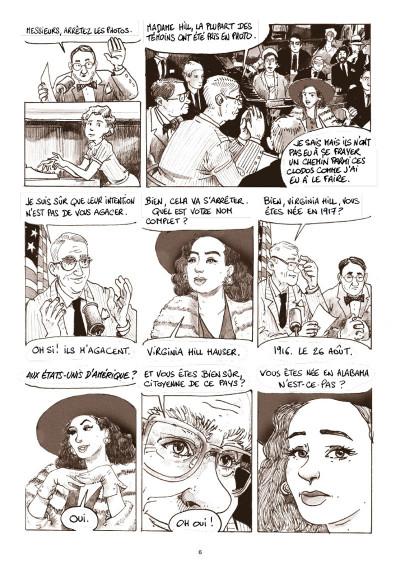 Page 4 Virginia Hill, journal d'une affranchie