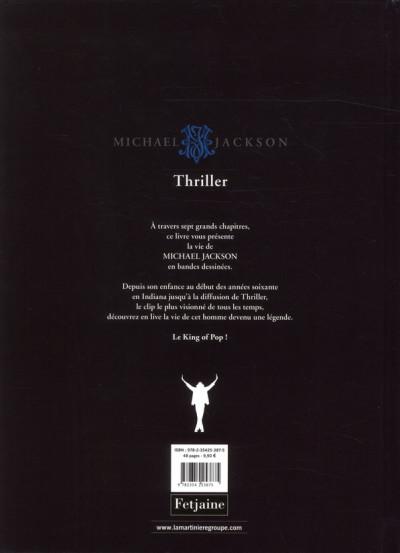 Dos Michael Jackson tome 1 - thriller