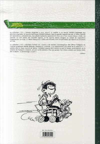 Dos gaston - intégrale version originale tome 3 - 1961-1962