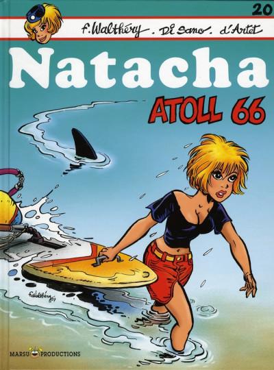 Couverture natacha tome 20 - atoll 66