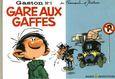 Couverture Gaston tome 1 - Gare aux gaffes (éd. 2007)