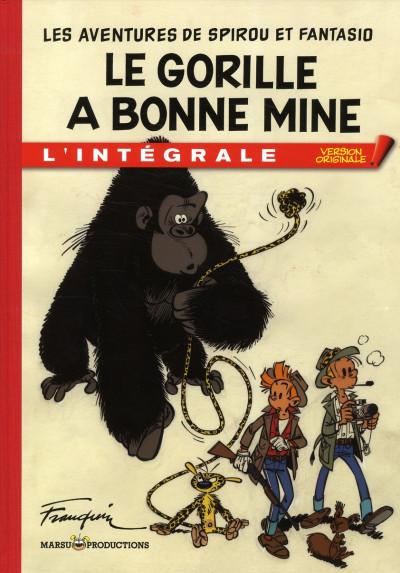 Couverture Spirou et Fantasio - tirage de tête VO tome 3 - le gorille a bonne mine