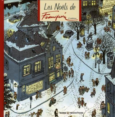 Couverture les Noëls de Franquin