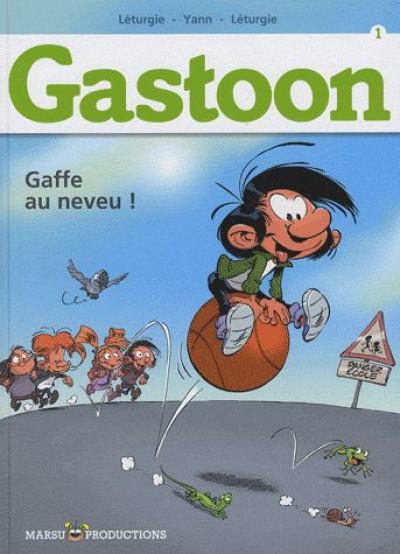 Couverture Gastoon tome 1 - gaffe au neveu !