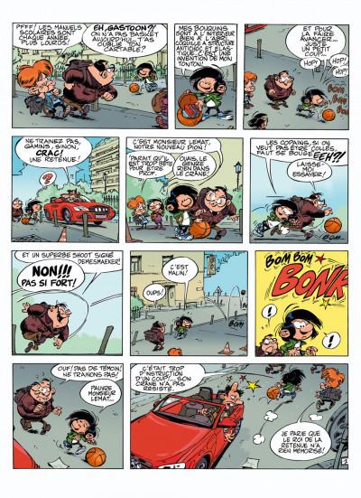 Page 1 Gastoon tome 1 - gaffe au neveu !