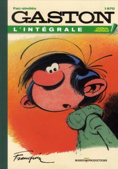 Couverture Gaston - intégrale intégrale version originale tome 10 - 1970