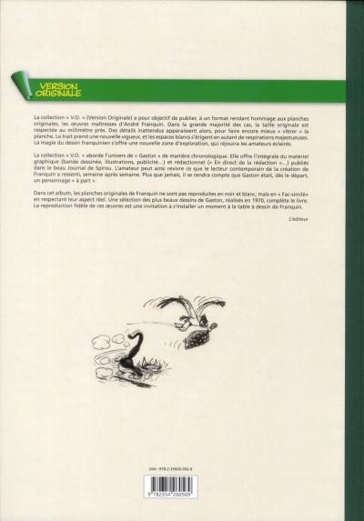 Dos Gaston - intégrale intégrale version originale tome 10 - 1970
