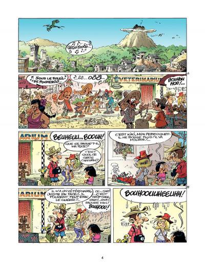 Page 3 marsupilami tome 25 - sur la piste du marsupilami