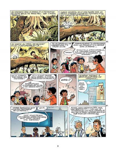 Page 5 marsupilami tome 25 - sur la piste du marsupilami