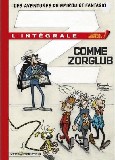 Couverture spirou et fantasio - tirage de tête version originale tome 5 - Z comme Zorglub