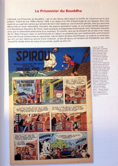 Page 1 Spirou et Fantasio - tirage de tête VO tome 8 - le prisonnier de Bouddha