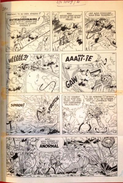 Page 4 Spirou et Fantasio - tirage de tête VO tome 8 - le prisonnier de Bouddha