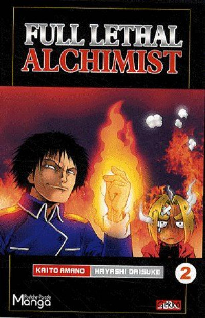 Couverture full lethal alchemist tome 2