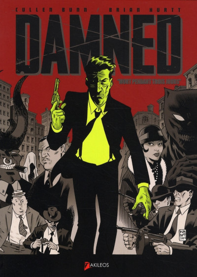 Couverture the damned tome 1 - mort depuis 3 jours