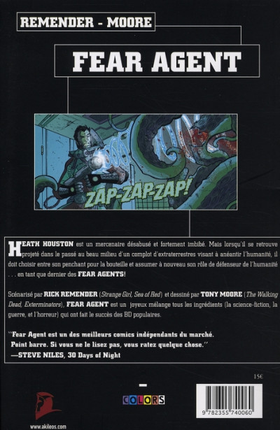 Dos fear agent tome 1 - re-ignition
