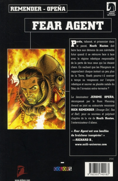 Dos fear agent tome 2 - ma guerre