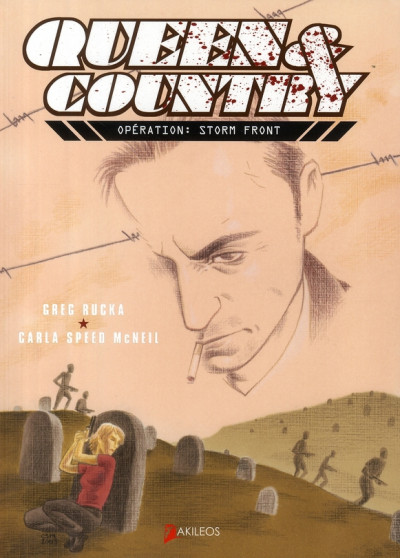 Couverture queen & country tome 4 - opération: storm front