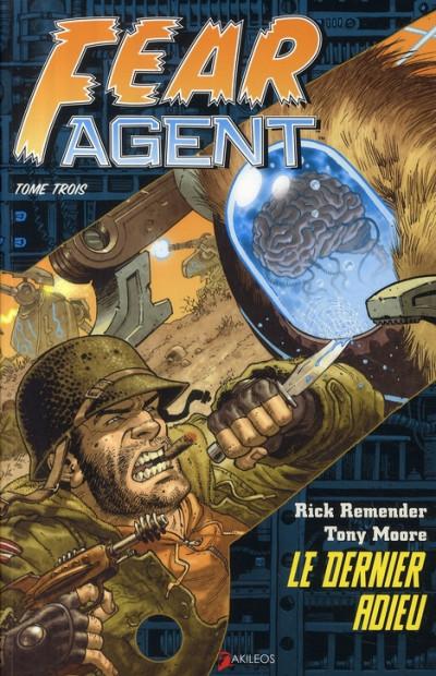 Couverture fear agent tome 3 - le dernier adieu