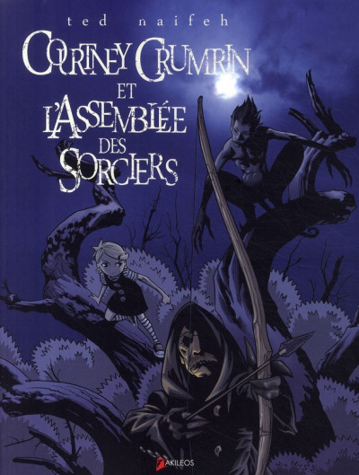Couverture courtney crumrin tome 2 - l'assemblée des sorciers