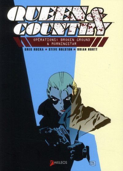 Couverture queen & country tome 1 - opération broken ground & morningstar