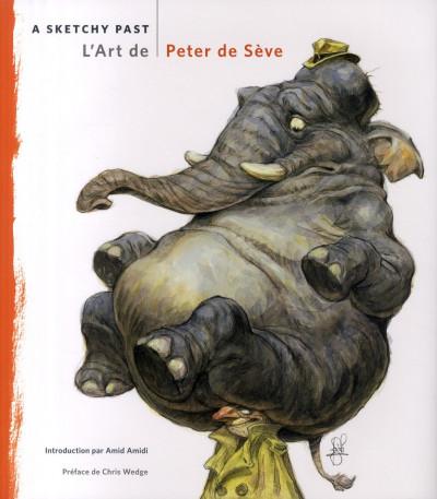 Couverture A sketchy past - L'art de Peter de Seve