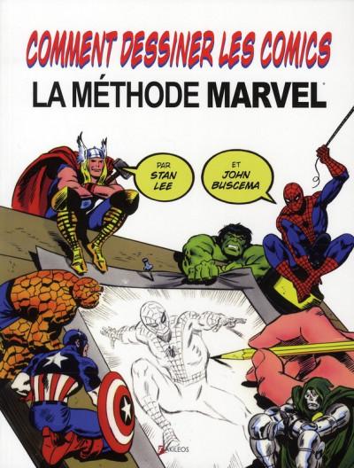 image de comment dessiner des comics : la méthode marvel