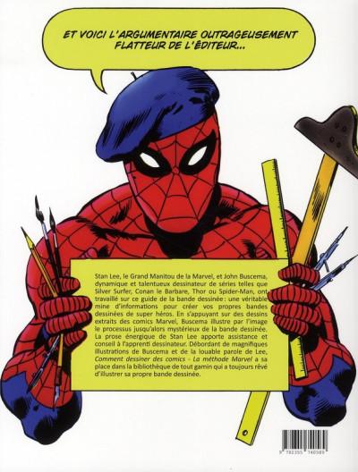 Dos comment dessiner des comics : la méthode marvel