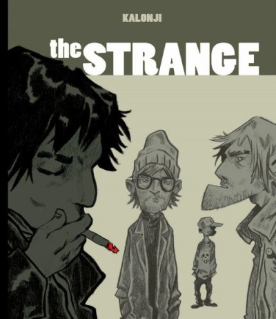 Couverture the strange