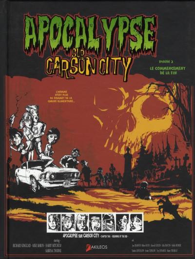 Couverture apocalypse sur Carson City T.2 - le commencement de la fin
